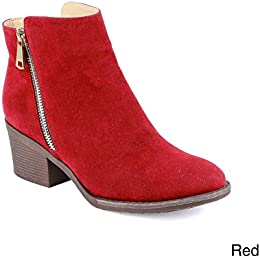 Amazon.com: Red - Boots / Shoes: Clothing Shoes &amp Jewelry