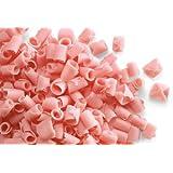 Belgian Chocolate Curls - Blossom Curls Pink - 1Lb