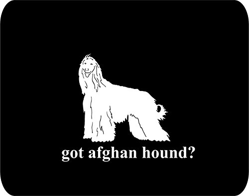 got afghan hound? Rectangle Non-Slip Rubber - Black Thick Mouse Pad - Dog Lovers
