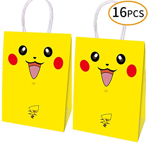 16pcs Video Gaming Party Bags Goody Favor Bags For Kids Adults Birthday Party Themed Party Supplies Favors