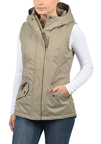Mujer Sin con Dune Chaleco Bellissa para 5409 Desires Capucha Chaqueta Outdoor Mangas w8gvx