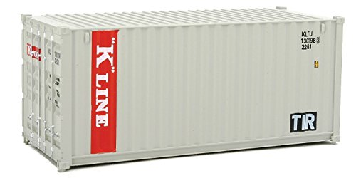 Used, Walthers SceneMaster 20' Corrugated Container K-Line for sale  Delivered anywhere in USA