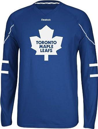 984daa8ca Amazon.com : NHL Toronto Maple Leafs Men's Edge Long Sleeve Jersey Tee,  Blue, XX-Large : Sports Fan T Shirts : Clothing