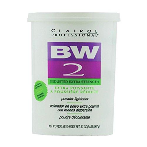 Clairol Professional Basic White 2 Powder Lighteners Hair Color, Tub - Clairol Basic White Lightener