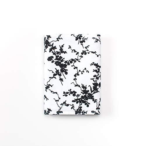 Calvin Klein Home Marcel Bath Towel, White/Black
