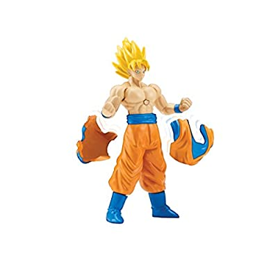 Dragon Ball Super - Power Up Action Figure (Super Saiyan Goku): Toys & Games