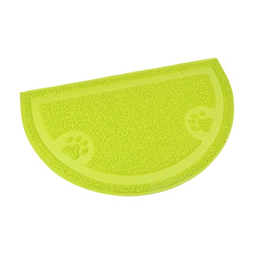 CODICO 6tap003vc Half Circle Litter Mat for Cats