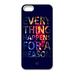 Okaycosama Funny IPhone 5,5S Cases Funny 102 for Teen Girls, Cute Iphone 5s Cases for Teen Girls, {White}