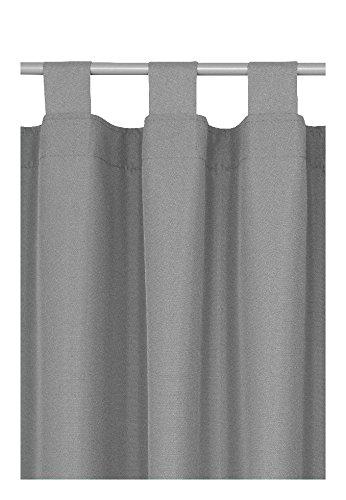 Schlaufen oder Ösenschal Ösenschal Ösenschal - Vorhang-Gardine Maßanfertigung im Unidesign Weiss 120cm x 320cm Schlaufenschal , Farbe und Größe wählbar B01MRLWBWL Gardinenschals 11bf06