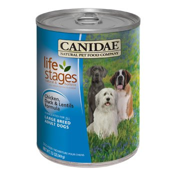 Canidae Large Breed Duck/Lentil Can Dog Food 12Pk