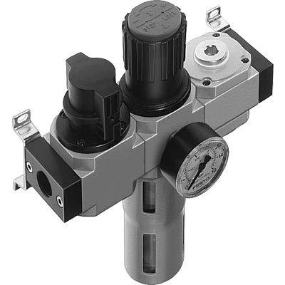 Festo 185724 Model LFR-1/4-D-MIDI-KB-A Service Unit Combination