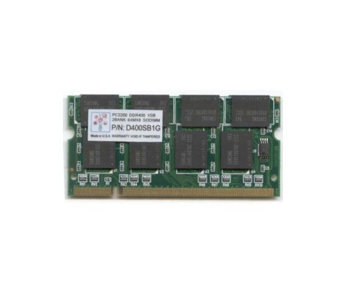 Super Talent D400 SODIMM 1 GB/64X8 Notebook Memory D400SB1G