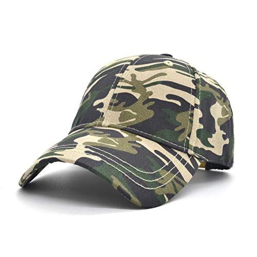 8a1d99065d677 Low Profile Baseball Cap Unisex Women Trucker Hat Men Sun hat Plain Cotton  Cap Camo Adjustable Cap Outdoor Sport Hunt Cap (Jungle Camouflage)