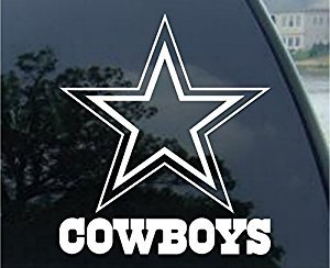 Dallas Cowboys - Logo Cut Out Decal (8