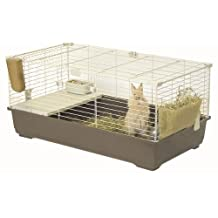 Marchioro Tommy C 102 Cage for Small Animals, 39.25-Inch, Brown/Beige