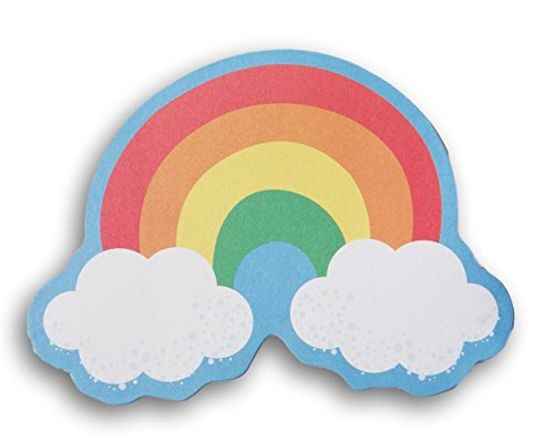 Teaching Tree Paper Shaped Decor Sheets - Rainbow with Clouds - 36 (Rainbow Cut Out)