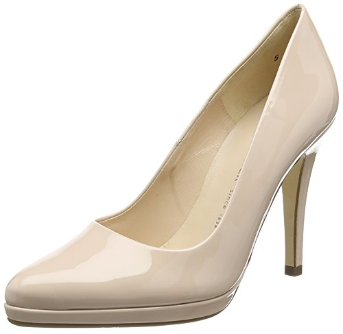 Peter KaiserHERTHA - Zapatos de Plataforma para mujer Beige (POWDER VIT 116)