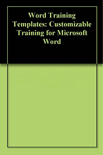 Amazon Word Training Templates Customizable Training For