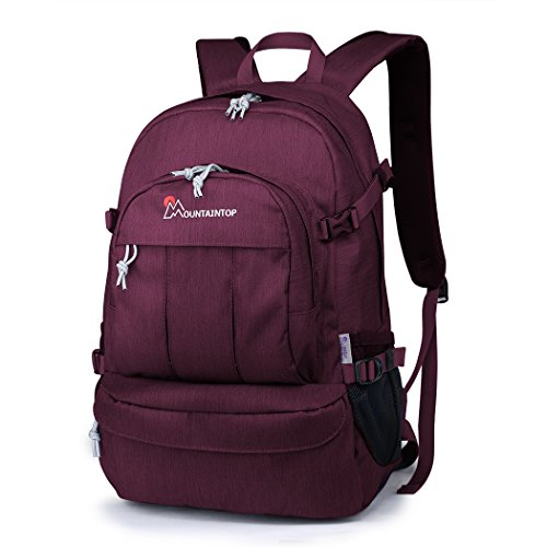 Mountaintop Casual Daypack College Backpack for School Travel Hiking Rucksack (For College Backpack Women)