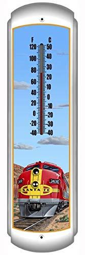 (Thermometer - Santa Fe Railroad)