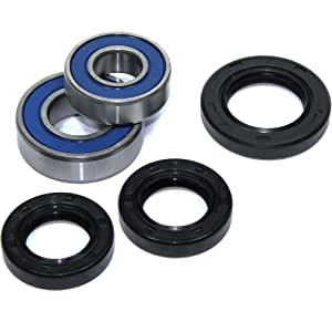 Amazon Com Caltric Front Wheel Ball Bearings Amp Seals Kit