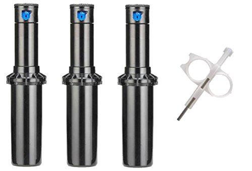 Hunter PGP Ultra Rotor Sprinkler Heads - 3 Pack - Includes Adjustment Tool