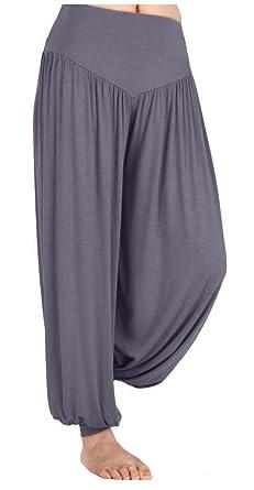 TownCat Womens Comfy Loose Pilates Yoga Pants Harem Pants with Elastic Wide Waistband