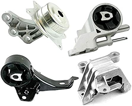 Motor/&Trans Mount 4PCS Set for 04-10 Chevy Malibu// Pontiac G6// Saturn Aura 3.5L