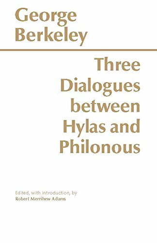 Three Dialogues Between Hylas+Philonous