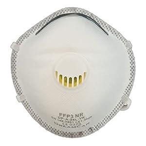 6X FFP3 Masque de Protection respiratoire Masque Anti-poussière DreamCan Filtre de Classe supérieure 99% avec Valve…