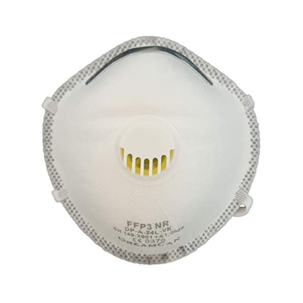 6X-FFP3-Atemschutzmaske-99-Filter-DreamCan-Halbmaske-Staubmaske-Atemmaske-Schutzmaske-mit-Ventil