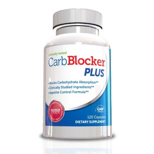 Carb Blocker Plus - haricot blanc Extrait et Garcinia Cambogia - formulées pour bloquer les glucides et brûler les graisses rapidement! 120 Capsules