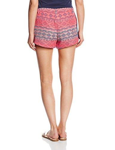 Multicolore Vmaquila Wp4 Short Vero Coral Donna fiery Moda Pattern Pantaloncini Dnm OBnH4xq