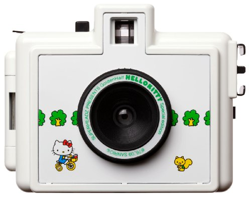 Superheadz Hello Kitty Golden Half 35mm Film Camera [Camera] (japan import) Superheadz Powershovel 1101k