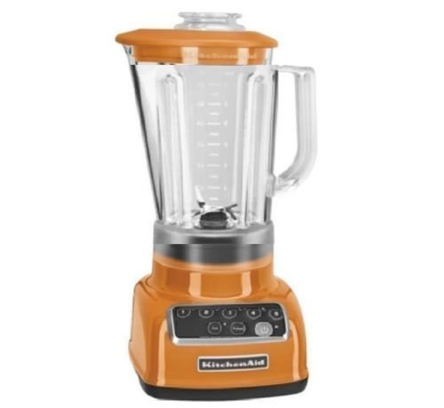 KitchenAid RKSB1570TG 5-Speed Blender with 56-Ounce BPA-Free Pitcher - Tangerine (Certified Refurbished)