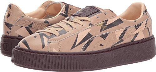 074c03d85b8 Galleon - PUMA Unisex X Naturel Platform Cheetah Sneaker Natural  Vachetta Wine 7.5 Women   6 Men M US