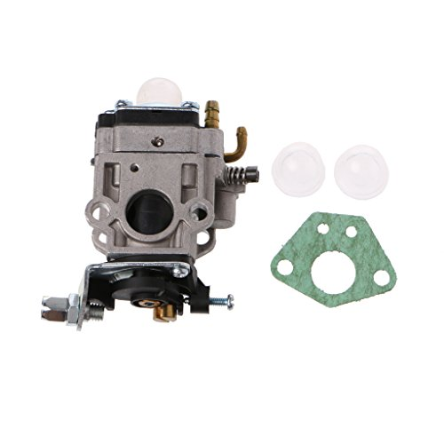 15mm Carburetors - Autoparts 2 Stroke Carburetor 15mm MP15 Carb Kit, For 43cc 47cc 49cc 50cc Gas Scooter Pocket Bike