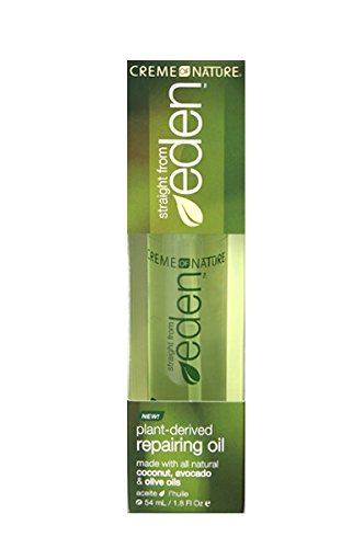 Creme of Nature Straight from Eden Plant Derived Repairing Oil, 1.8 Ounce Creme Of Nature Nourishing Conditioner