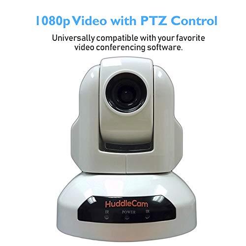 HuddleCamHD HC3X-WH-G2 2.1MP 1080p 3x Gen2 USB2.0 Conferencing Camera White