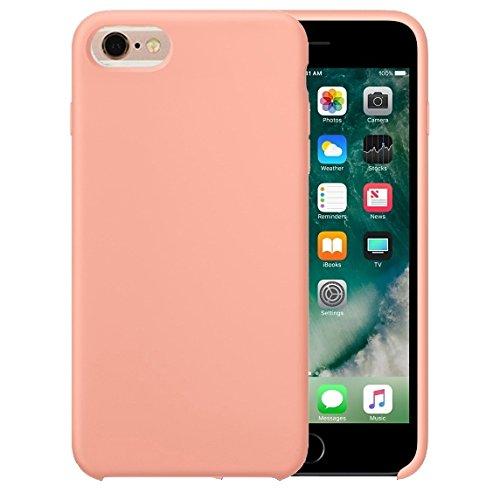 Phone Case & Hülle Für iPhone 6 & 6s Reines Farbflüssiges Silikon + PC-schützender rückseitige Abdeckungs-Fall ( Size : Ip6g0423f )