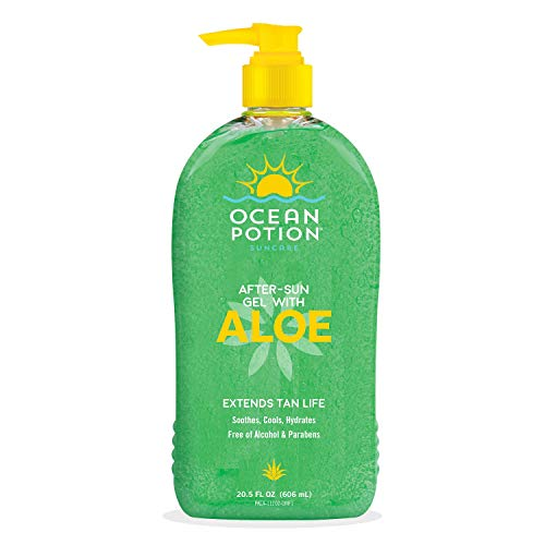 Ocean Potion 100 Pure Aloe Gel 20.50 oz Pack of 5