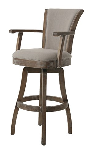 Pastel Furniture GL-217-30-ND-091 Glenwood Swivel Barstool, 30