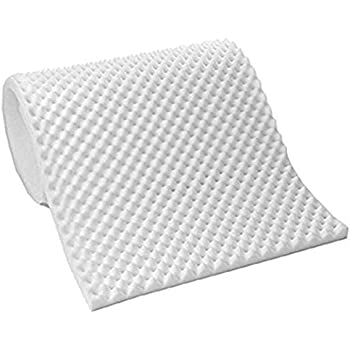 Amazon Com Vaunn Medical Premium White Egg Crate
