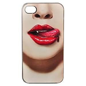 JAJAY- Fashion Ultrathin Relievo PC Hard Case for iPhone 4/4S