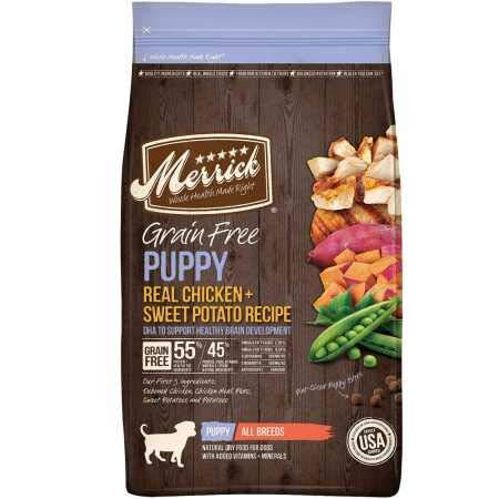 Merrick Grain Free Puppy Chicken Sweet Potato...