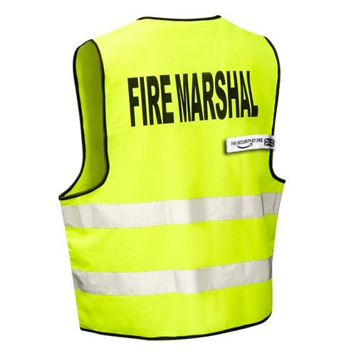High Visibility FIRE MARSHALL Safety Vest