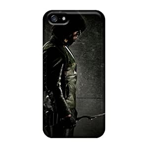 First-class Cases Covers For Iphone 5/5s Dual Protection Covers Green Arrow Black Friday