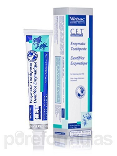 3 Pack C.e.t. Enzymatic Toothpaste - Poultry Flavor - 2.5 Oz (70 Grams)