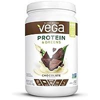 Vega Protein & Greens 21.8 Oz Plant Based Powder Chocolate