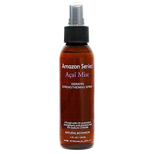 de Fabulous Amazon Series Acai Mist Keratin Strengthening Spray, 4.0 fl. oz. by de -